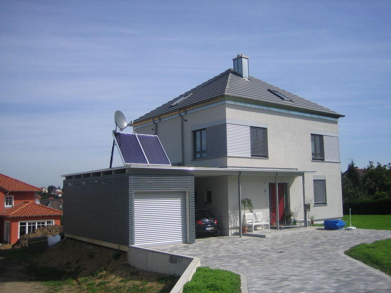 neubau eines einfamilienwohnhauses mit garage und carport 2006 knipl pracht partner. Black Bedroom Furniture Sets. Home Design Ideas