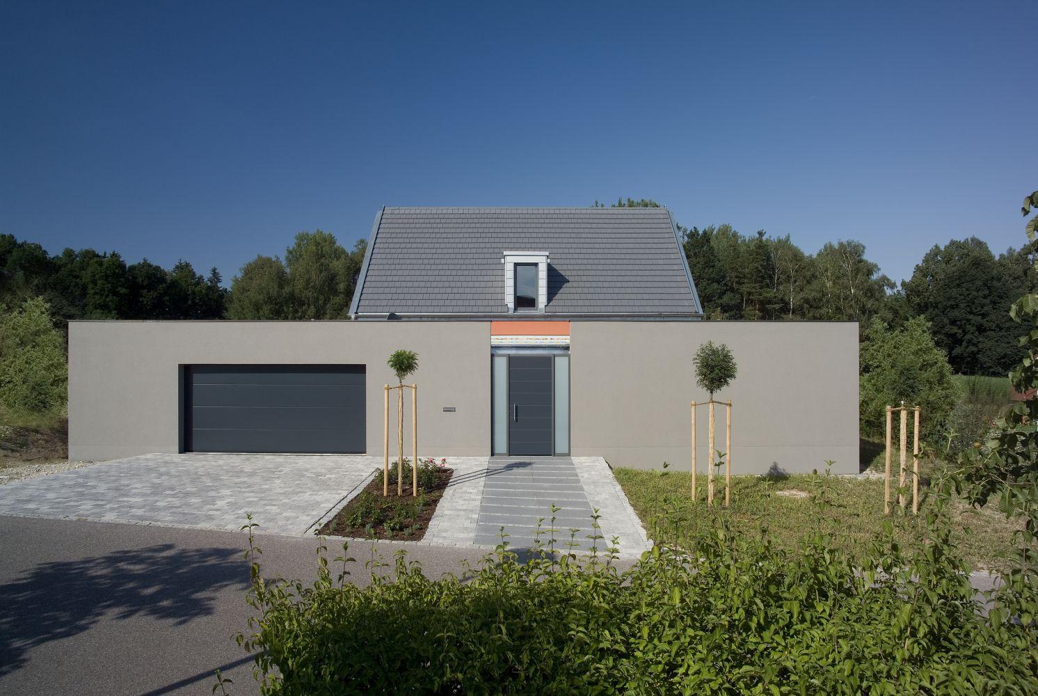Neubau Eines Einfamilienwohnhauses Mit Doppelgarage Graml