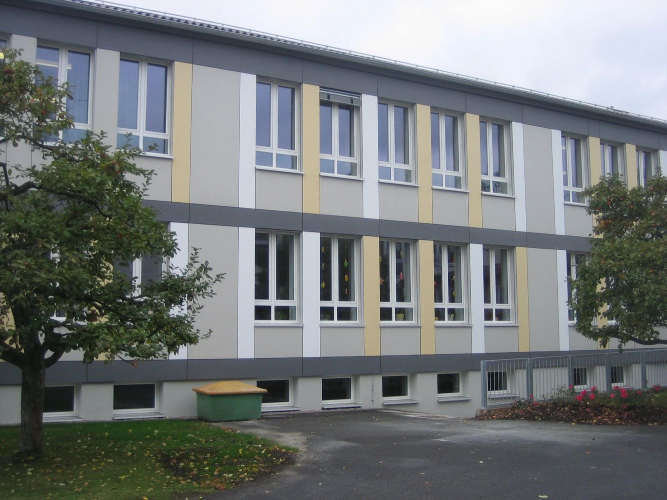 Energetische Sanierung Der Lindenschule In Schwandorf