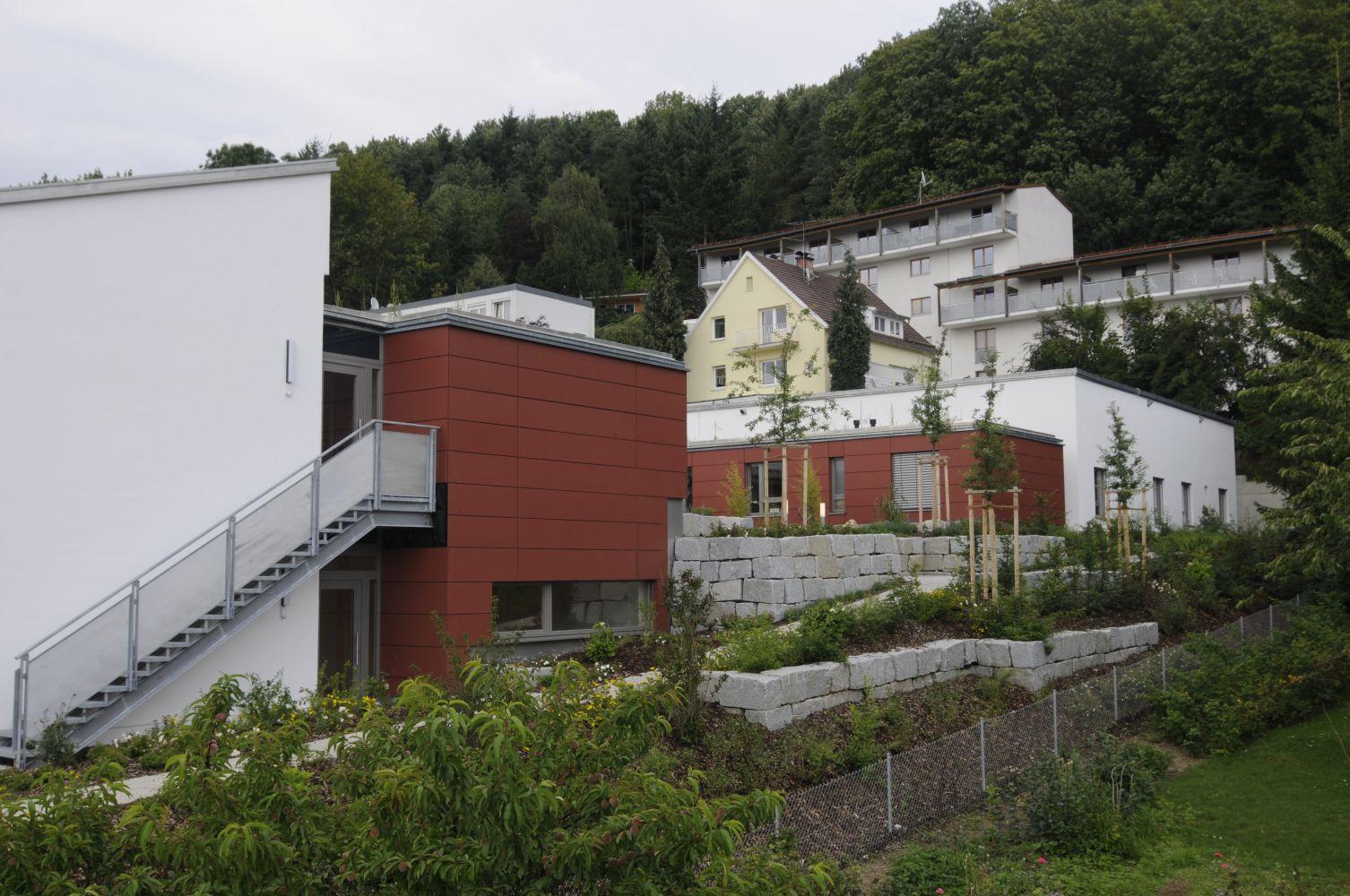 Bauen Für Menschen Mit Behinderung Wohnheim Bogen