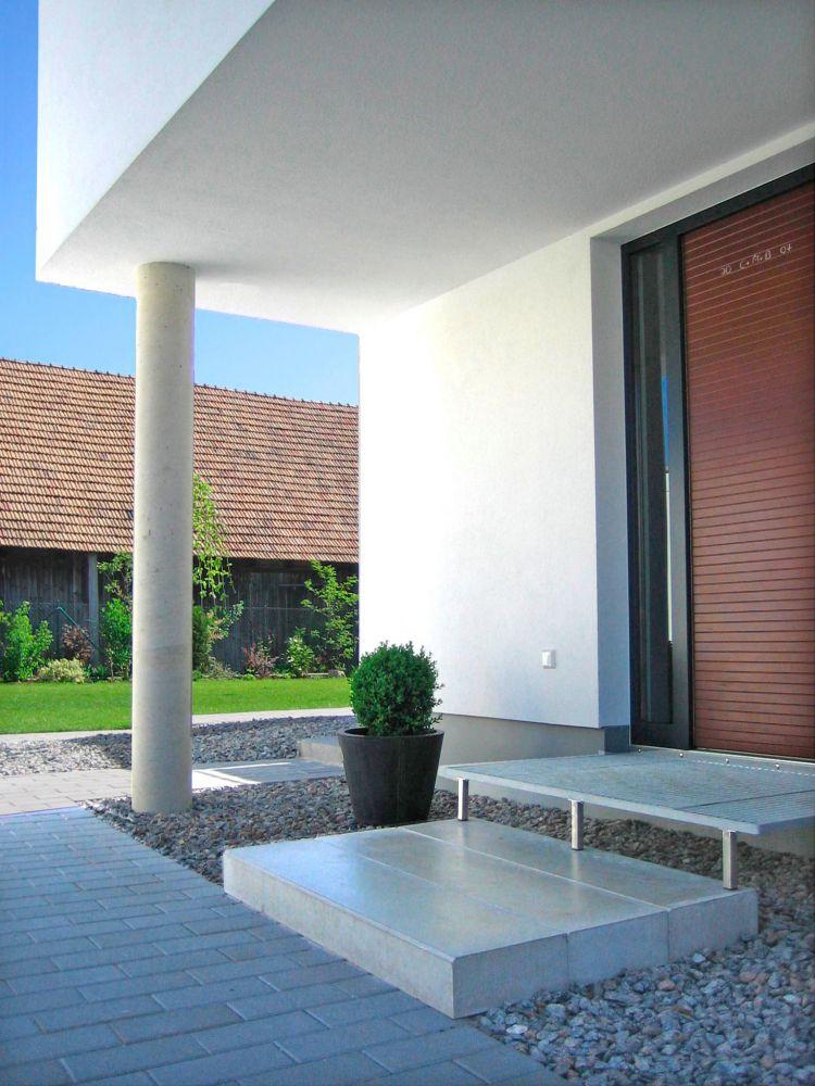 Neubau Eines Einfamilienwohnhauses Mit Doppelgarage Fuchs Schwandorf