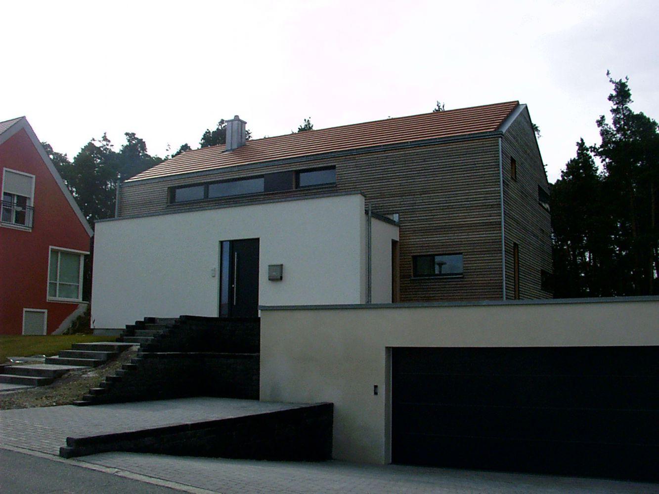 Neubau Eines Einfamilienwohnhauses Zenk